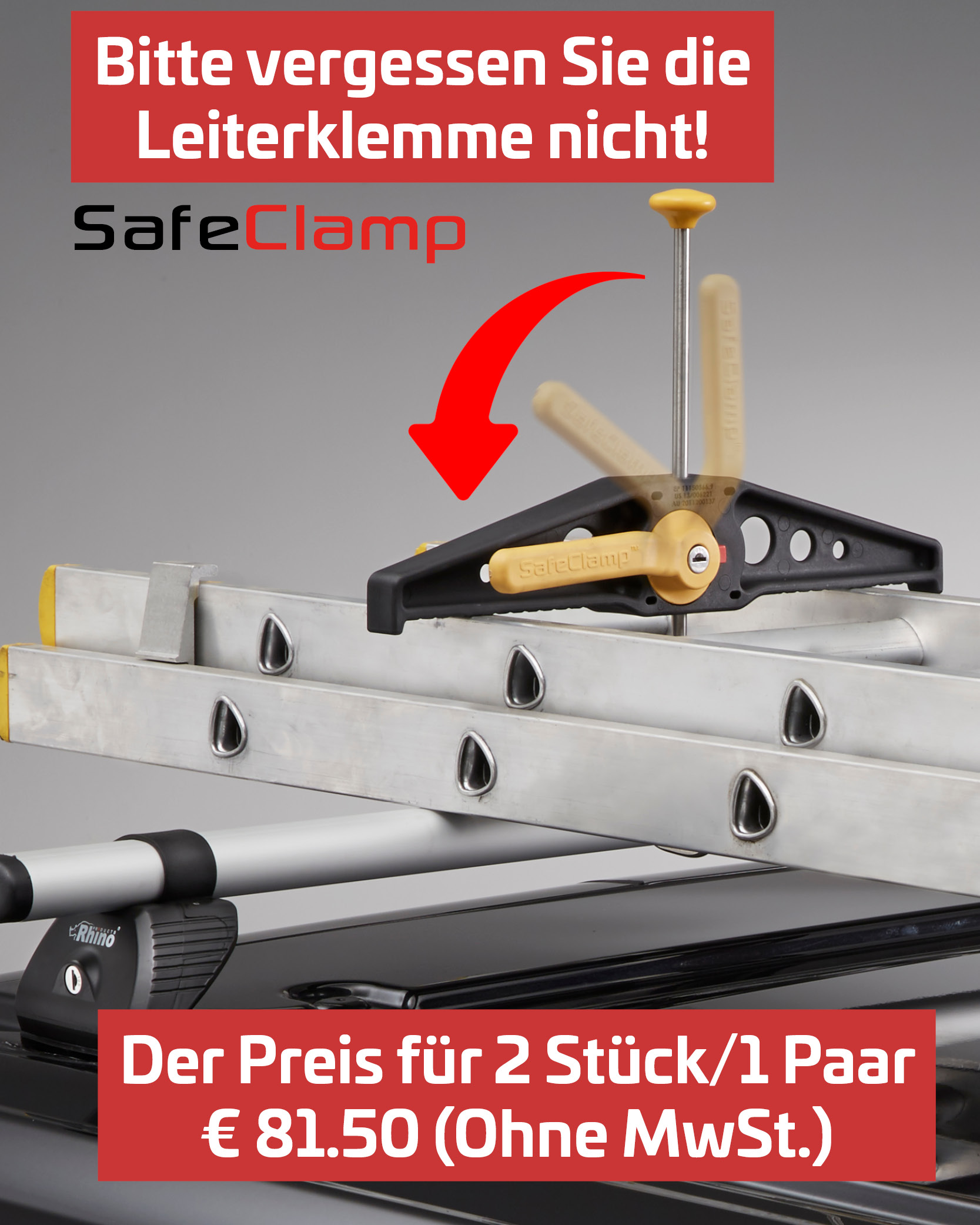 SafeClamp Leiterklemme